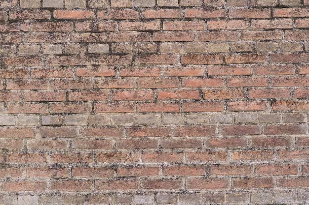 Hintergrund der braunen backsteinmauer. backsteinmauer hintergrund