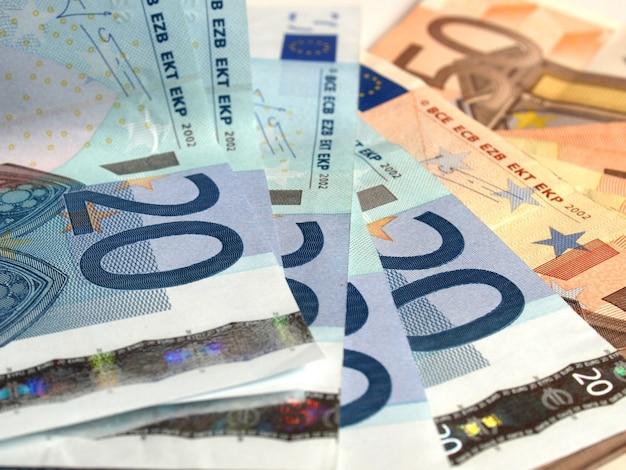 Hintergrund der euro-banknoten