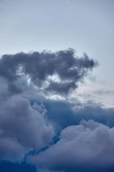 Hintergrund der gewitterwolken