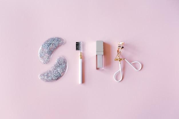 Hintergrund der kosmetischen produkte.