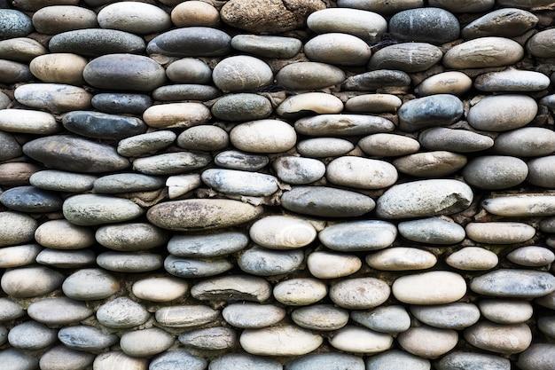 Hintergrund der mit steinen gepflasterten mauer.