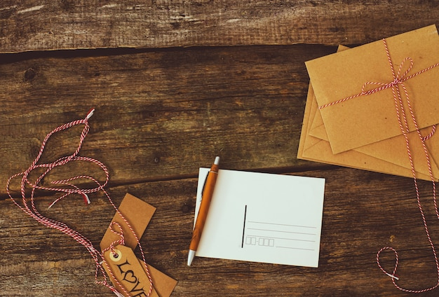 Hintergrund der postzustellung