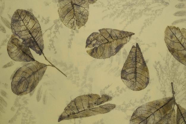 Hintergrund der retro-tapisserie-oberfläche mit strukturiertem blumenmuster