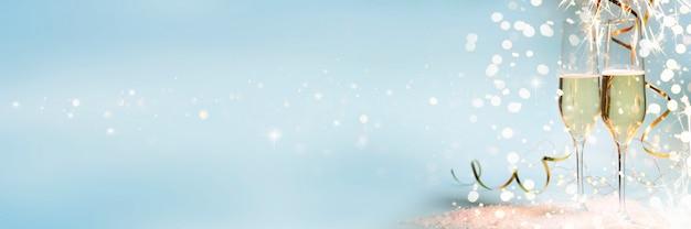 Hintergrund der silvesterfeier