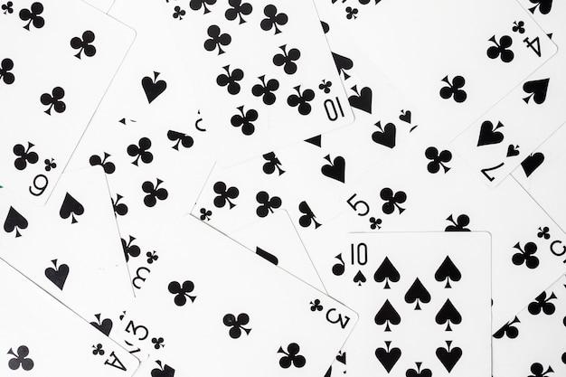 Hintergrund der spielkarten.