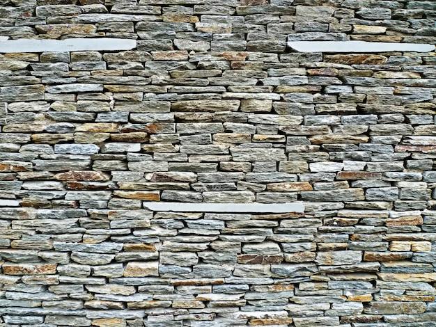 Hintergrund der steine, die eine wand bilden