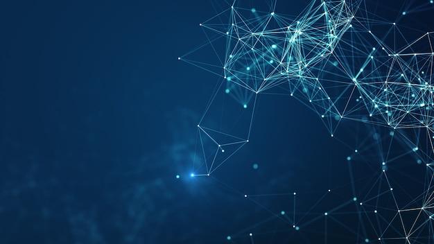 Hintergrund der technologienetzwerke.