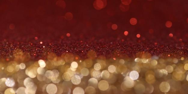 Hintergrund der weihnachts- und neujahrsfeiertage. verschwommener bokeh-hintergrund