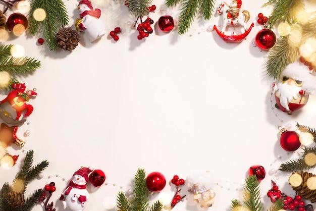 Hintergrund der weihnachts- und neujahrsfeiertage.