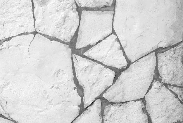 Hintergrund der weißen steinmauerbeschaffenheit