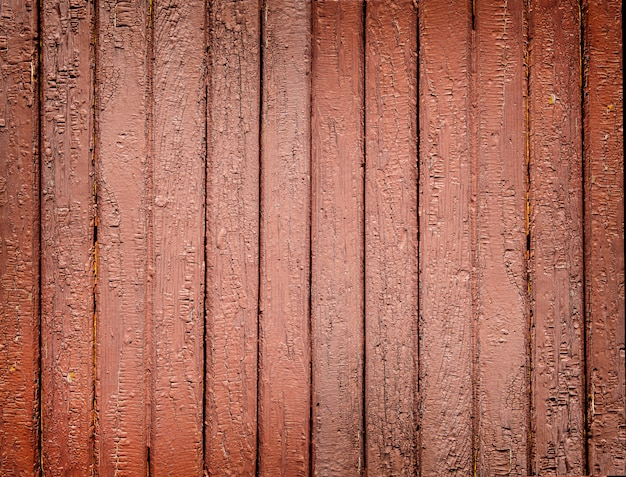 Hintergrund des alten braun gestrichenen holzbretts