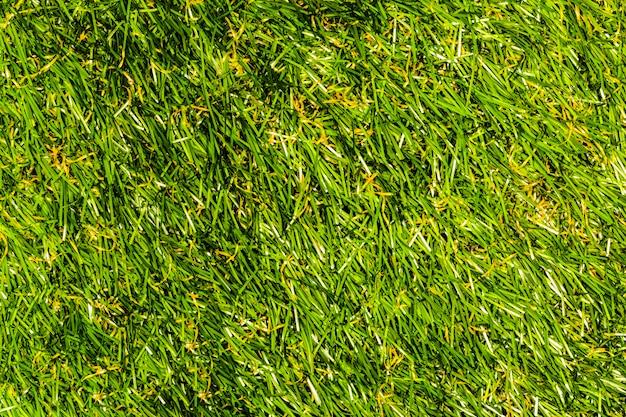 Hintergrund des grases mit künstlichem