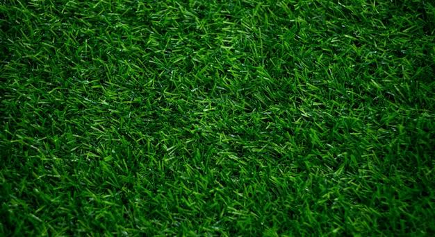 Hintergrund des grünen grases, fußballplatz