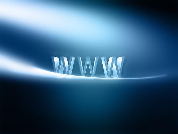 Hintergrund des modernen internetkonzepts