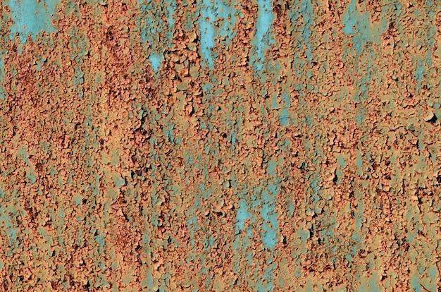 Hintergrund des rostigen metalls.