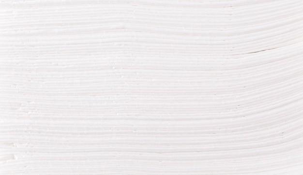 Hintergrund des stapels von papiertaschentüchern.