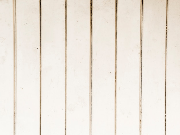 Hintergrund des weißen holztischs gemasert