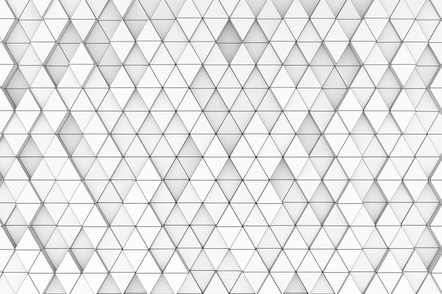 Hintergrund einer vielzahl von dreiecken. 3d rendern
