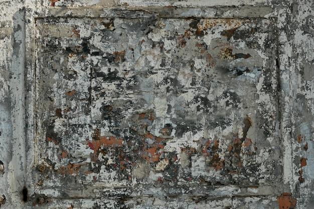Hintergrund eines alten gemalten brettes der grauen farbe