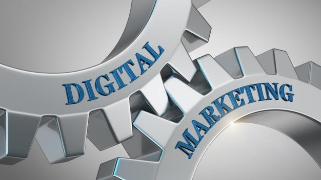 Hintergrund für digitales marketing