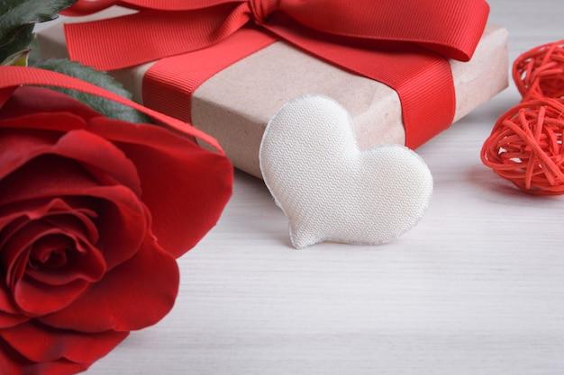 Hintergrund für valentinstag-grußkarte. valentinstag-konzept