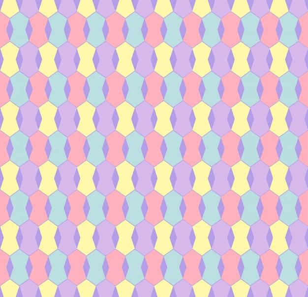 Hintergrund hexagon nahtlose moderne kreative