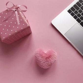 Hintergrund im valentinstag
