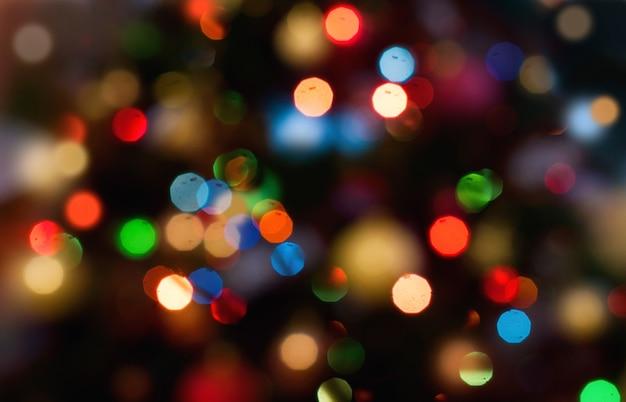 Hintergrund mit dem lichteffekt boke dekorativ