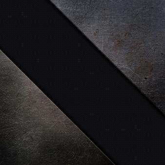 Hintergrund mit metallformen