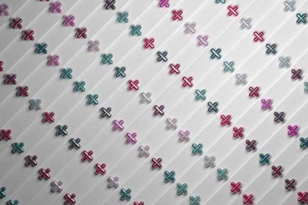 Hintergrund mit multiplizieren pluszeichen