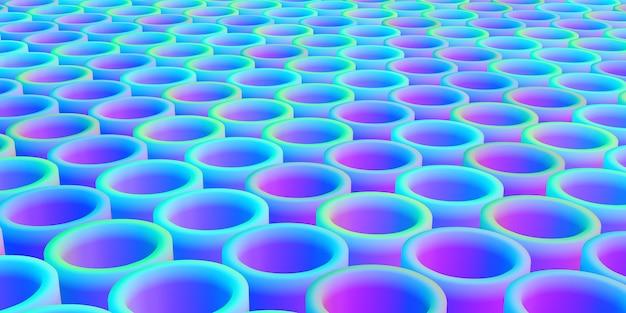 Hintergrund mit rundem balken mit farbverlauf kreisförmige struktur
