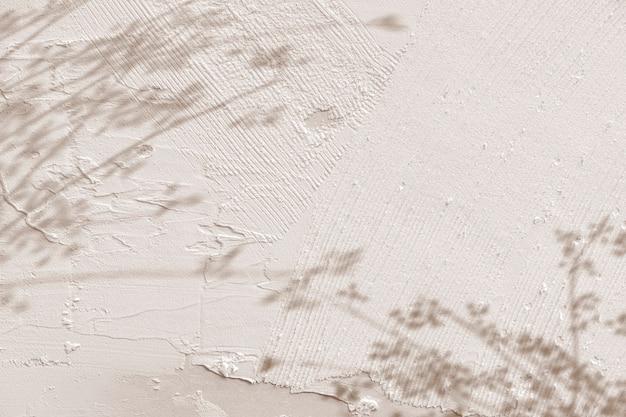 Hintergrund mit schatten von blumenzweigen