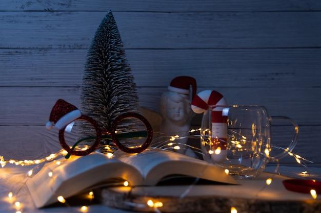 Hintergrund mit weihnachtsmotiven