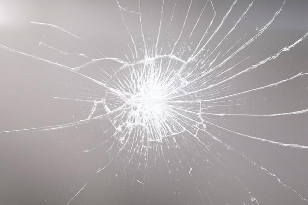 Hintergrund mit zerbrochener glasstruktur