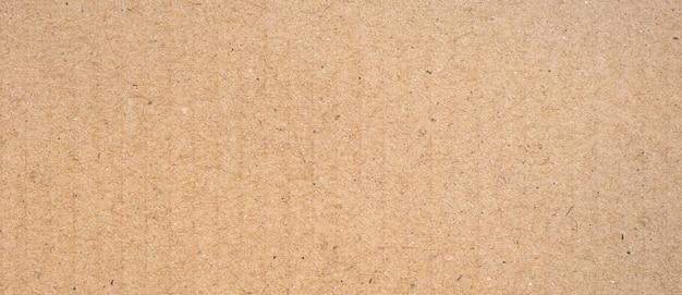 Hintergrund und textur des braunen papierkastens mit kopierraum