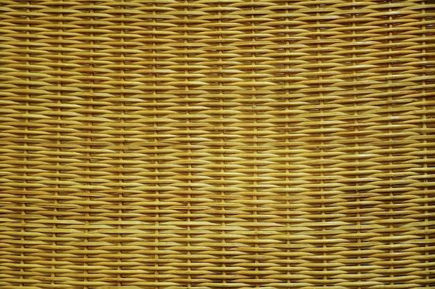Hintergrund und textur mit rattanrattan-möbeln