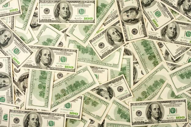 Hintergrund von 100-dollar-banknoten