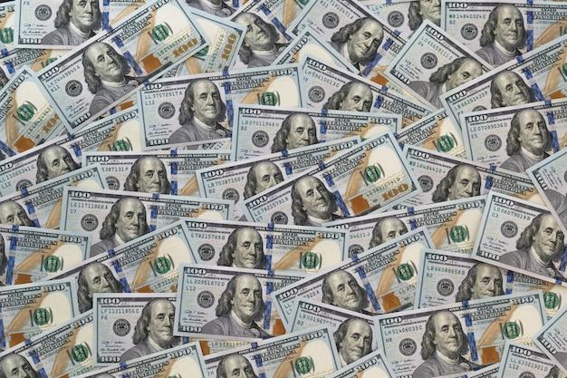 Hintergrund von 100-dollar-noten