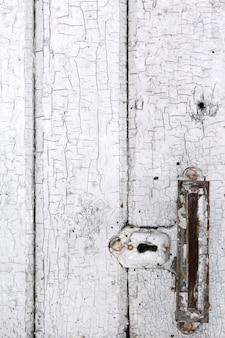 Hintergrund von alten weißen brettern