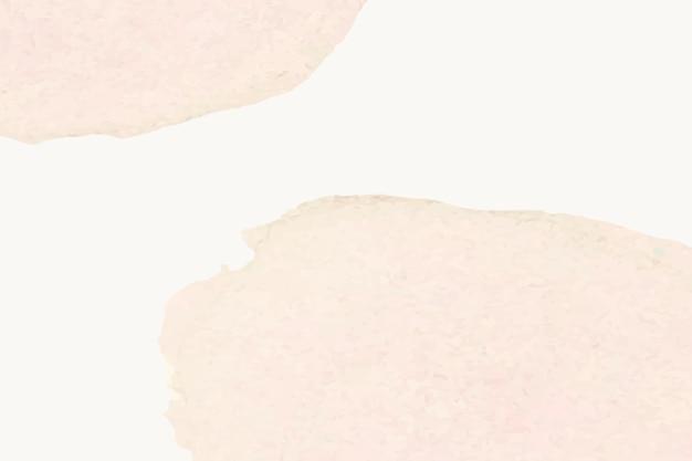 Hintergrund von beigem aquarell mit farbflecken im einfachen stil