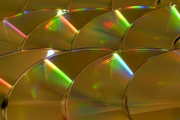 Hintergrund von brillanten fragmenten cds