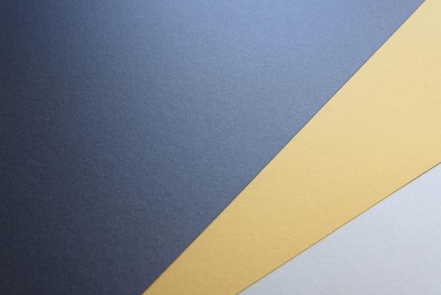 Hintergrund von drei farben modernes design, schwarz, weiß und gelb.