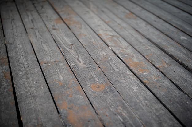 Hintergrund von einem alten grauen terrassenbrett