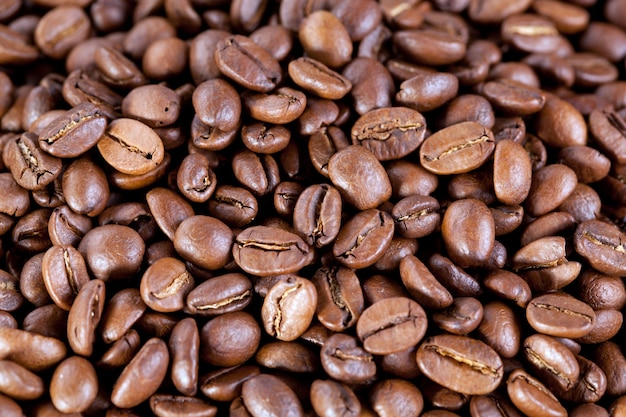 Hintergrund von kaffeebohnen