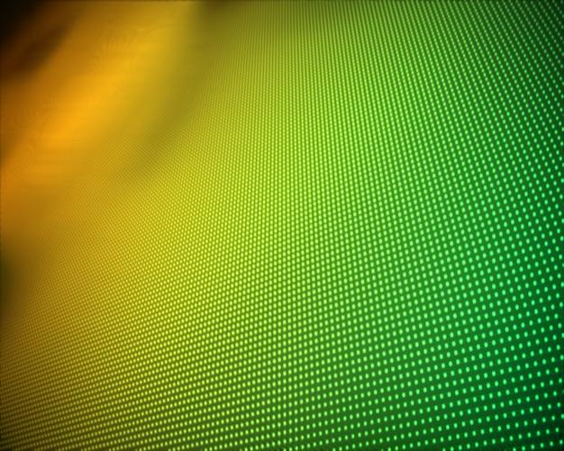 Hintergrund von mehrfachen grünen und gelben punkten