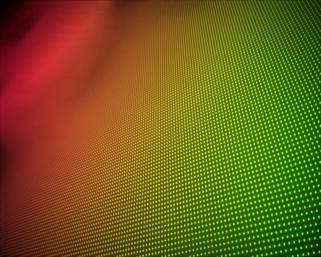 Hintergrund von mehrfachen grünen und orange punkten
