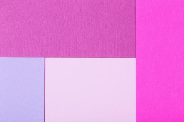 Hintergrund von mehrfarbigen pappbögen mit textur
