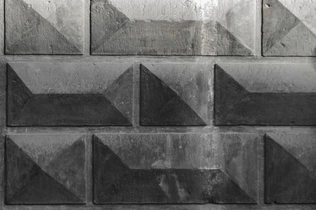 Hintergrund von rechtecken. facette. grauer architektonischer hintergrund