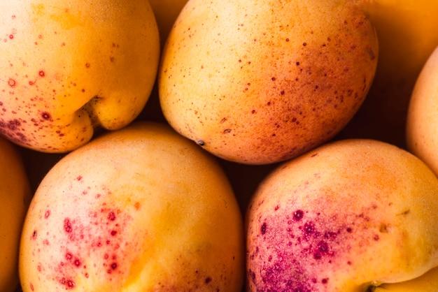 Hintergrund von reifen aprikosen