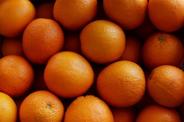 Hintergrund von reifen schönen früchten orangen zitrusfrüchten